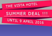 Hot Deal! from The Vista Hotel